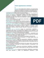 Tema 1 comportamiento organizacional (Productividad Humana)