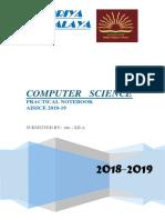 computer science practical file printed