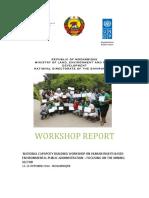 Bilene Workshop Report