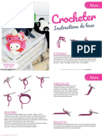 Le Crochet Instructions de Base