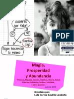 Memorias Conferencia Magia, Prosperidad y Abundancia