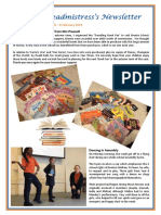 Newsletter No 65 - 8th February 2019