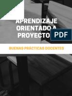 2 Aprendizaje Orientado a Proyectos (Buenas Prácticas)
