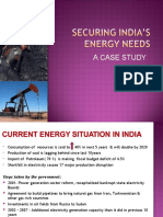 Securing India's energy needs