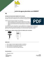 Analisis Pluviales España