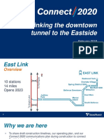 Sound Transit Board Brief on Connect 2020