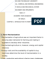 Chapter 1 Introduction Farm Machinery