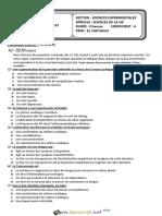 Devoir de Synthèse N°3- SVT - Bac Sciences exp (2013-2014)  Mr Yahyaoui Abdellatif