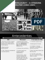 Aula sobre a Ditadura Militar
