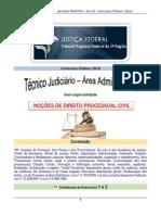 Noções de Dir Proc Civil - TRF 2