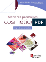 9782743022495 Matieres Premieres Sensorielles Collection Cosmetic Valley France Sommaire