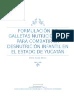 Proyecto Galleta Proteína