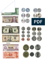 Blilletes y Monedas de El Salvador