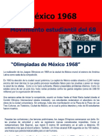 Movimiento Estudiantil Del 68 México 1968