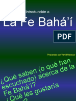 Introduccin Bsica a La Fe Bahai 19825