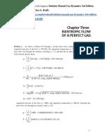 Solution Manual Gas Dynamics 3rd Edition James E.a. John Theo G. Keith