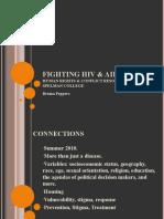 Human Rights Presentation - Fighting HIV & AIDS