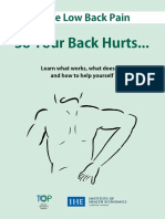 Acute Low Back Pain Brochure