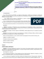 Reglamento Para La Comercializacion de Combustibles Liquidos y OPDH