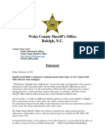 Statement_Sheriff Baker Responds to ICE Regional Director