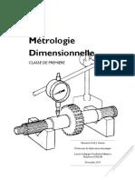 Métrologie Dimensionnelle TP