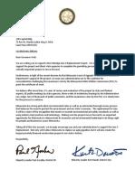 2.8.19 Support Line 3 Governor Walz Letter
