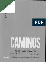 Caminos (Jose Luís Escario) - Tomo I.pdf