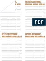 Book Planner A5