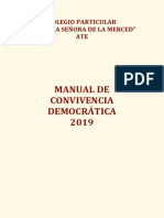 Manual de Convivencia Democratica 2019