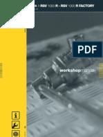 Aprilia RSV Workshop Manual 2004 - 2008