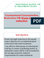 Effect of Ind Pollu on Sewage Treatment Plant