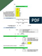Tabla en Excel para el rendimiento de maquinaria Jonathan Siervo Peña CivilGeeks.com