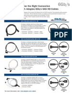 Sas HD Cables