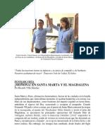 Moñona en Santa Marta y El Magdalena