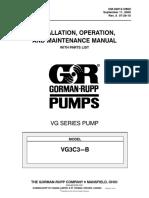 manual de instalacion, operacion y mantenimiento de bomba gorman rupp serie vg3c3