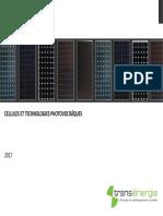 Cellules Et Technologies Photovoltaiques