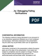 Formality Debugging Failing Verifications Presentation