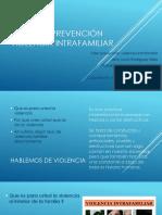 Presentación Prevención Violencia Intrafamiliar