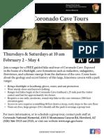 CORO Cave Tour Flyer 2019 CORRECT