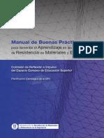 Manual de Buenas Practicas para fomentar el aprendizaje en las asignaturas de resistencia de materiales y estructuras