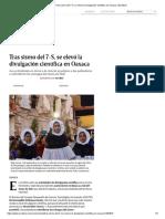Tras Sismo Del 7-S, Se Elevó La Divulgación Científica en Oaxaca _ Excélsior