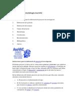 Manual de Metodología AsoVAC
