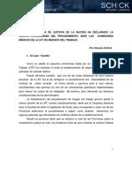 Horacio Schick. Comisiones médicas