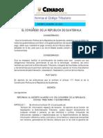 decreto 03-04 Reformas al Código Tributario Decreto 6-91
