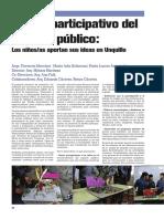 Diseño participativo del espacio público