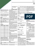 Instruções para Glicose Monoreagente