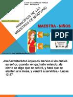 SEMINARIO MAESTRAS INDUCCION