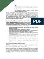 Tema 1 Derecho Penal