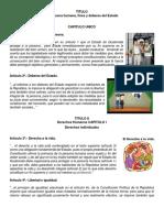 Constitucion Politica de La Republica de Guatemala ILUSTRADO