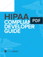 Developers Guide to HIPAA Compliance
